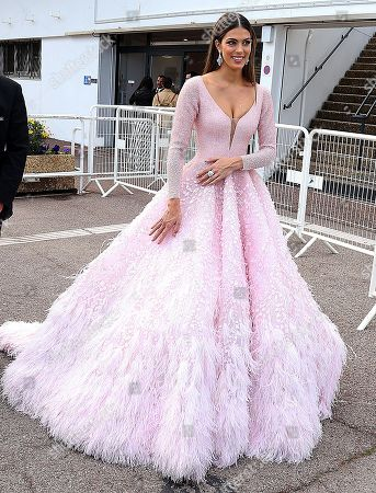 Iris Mittenaere out and about, 72nd Cannes Film Festival
