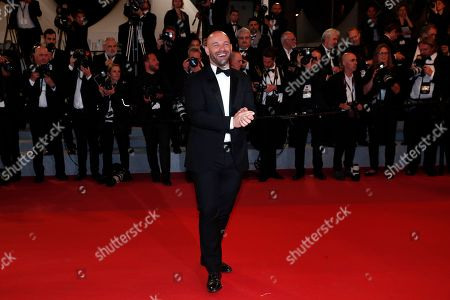 Franck Gastambide arrives for the screening of 'Rambo V: Last Blood' at the 72nd annual Cannes Film Festival, in Cannes, France, 24 May 2019. The festival runs from 14 to 25 May.