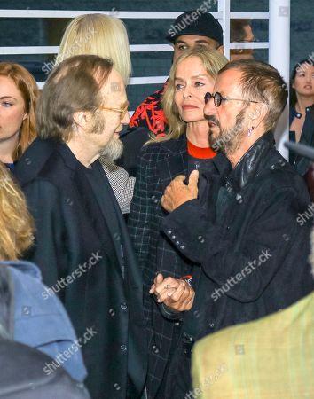 Stephen Stills, Ringo Starr and Barbara Bach