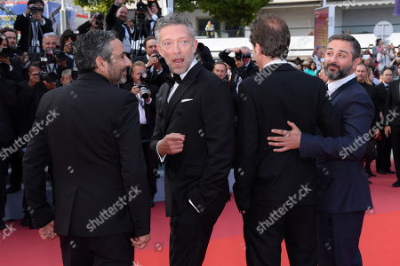 Eric Toledano, Vincent Cassel, Reda Kateb and Olivier Nakache