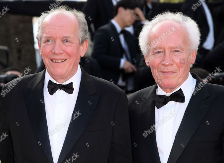 Stock Image of Luc Dardenne and Jean-Pierre Dardenne