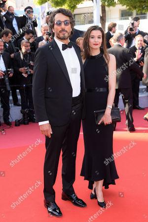 Vincent Elbaz and Fanny Conquy