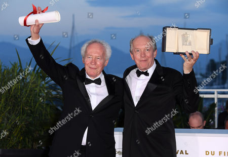 Stock Image of Jean-Pierre Dardenne and Luc Dardenne - Best Directors - 'Young Ahmed'