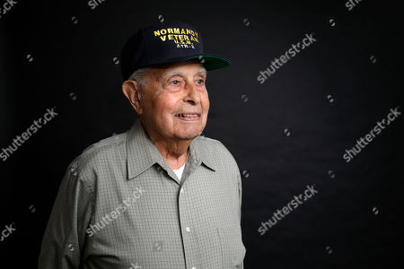 Editorial photo of D-Day Veteran, Concord, USA - 01 May 2019