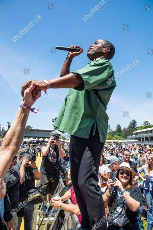 Ty Taylor of Vintage Trouble performs at the Bottle Rock Napa Valley Music Festival at Napa Valley Expo, in Napa, Calif