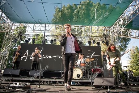 Stock Picture of Anderson East performs at the Bottle Rock Napa Valley Music Festival at Napa Valley Expo, in Napa, Calif