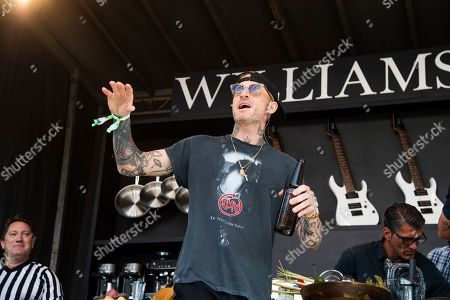 Michael Voltaggio is seen at the Bottle Rock Napa Valley Music Festival at Napa Valley Expo, in Napa, Calif