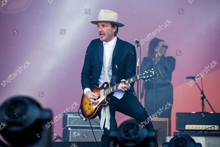 Nalle Colt of Vintage Trouble performs at the Bottle Rock Napa Valley Music Festival at Napa Valley Expo, in Napa, Calif