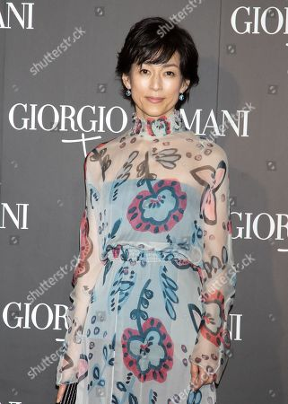 Editorial picture of Giorgio Armani 2020 Cruise Collection fashion show, Arrivals, Tokyo, Japan - 24 May 2019