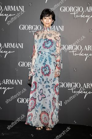 Editorial image of Giorgio Armani 2020 Cruise Collection fashion show, Arrivals, Tokyo, Japan - 24 May 2019
