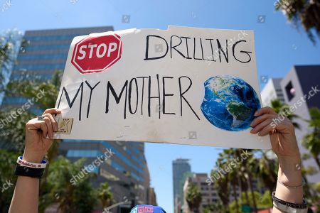 Fridays for Future climate change protest, Los Angeles