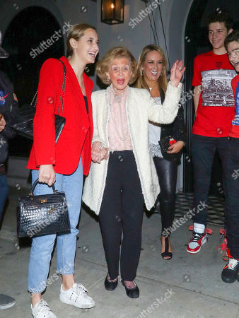 Editorial image of Barbara Davis out and about, Los Angeles, USA - 24 May 2019