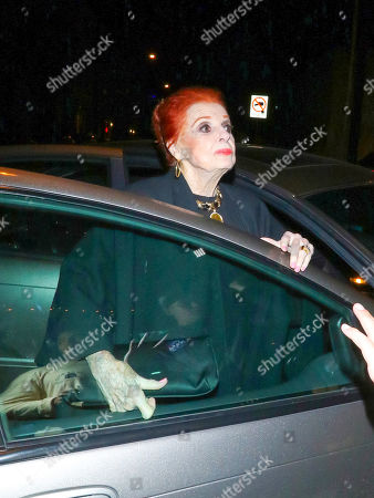 Editorial photo of Carole Cook out and about, Los Angeles, USA - 24 May 2019