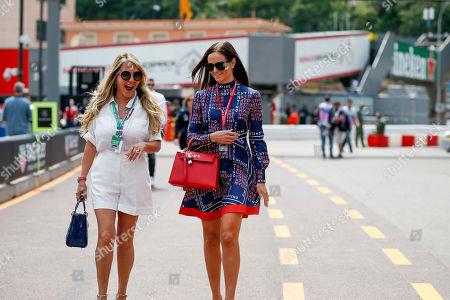 Motorsports: FIA Formula One World Championship 2019, Grand Prix of Monaco,  Minttu Raikkonen, girlfriend of #7 Kimi Raikkonen (FIN, Alfa Romeo Racing),