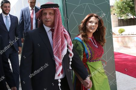 Editorial picture of Jordan ceremony of the 73rd Anniversary of the Independence, Amman - 25 May 2019