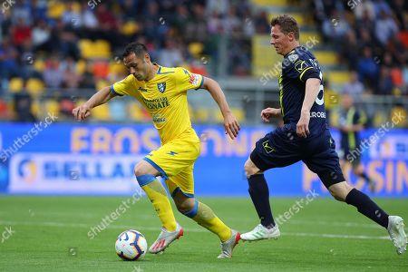 Editorial photo of Frosinone vs Chievo, Italy - 25 May 2019