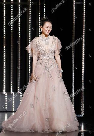 Zhang Ziyi onstage during the Closing Awards Ceremony of the 72nd Cannes Film Festival, in Cannes, France, 25 May 2019. The Golden Palm winning movie will be screened after the closing ceremony.