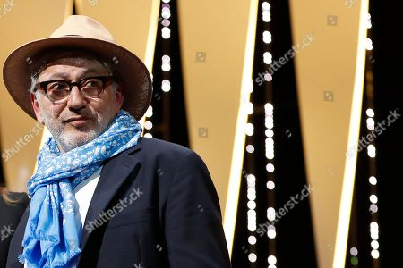 Palestine director Elia Suleiman accepts the Special Mention Prize for 'It Must Be Heaven' during the Closing Awards Ceremony of the 72nd Cannes Film Festival, in Cannes, France, 25 May 2019. The Golden Palm winning movie will be screened after the closing ceremony.