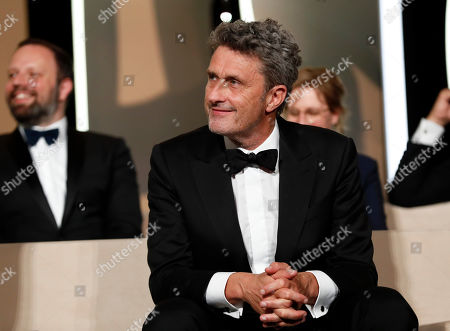Jury member, Polish director Pawel Pawlikowski onstage during the Closing Awards Ceremony of the 72nd Cannes Film Festival, in Cannes, France, 25 May 2019. The Golden Palm winning movie will be screened after the closing ceremony.