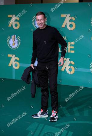 25.05.2019, Football DFB-Pokalfinale 2019, RB Leipzig - FC Bayern Muenchen, Olympiastadium Berlin,  Promis auf dem Gruenen Teppich, dem VIP-EIngang. TV-Moderagoal Kai Pflaume