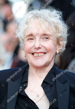 Stock Photo of Claire Denis at the 'Hors Normes' red carpet premiere, Cannes film festival closinng ceremony.