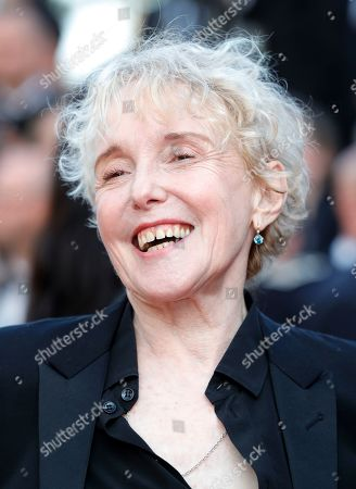 Stock Picture of Claire Denis at the 'Hors Normes' red carpet premiere, Cannes film festival closinng ceremony.
