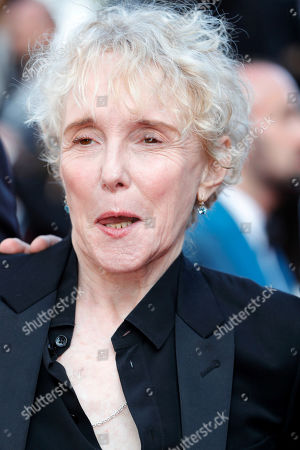 Claire Denis at the 'Hors Normes' red carpet premiere, Cannes film festival closinng ceremony.