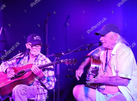 Stock Photo of Singer/Songwriters Rock Killough and Rick Edwards