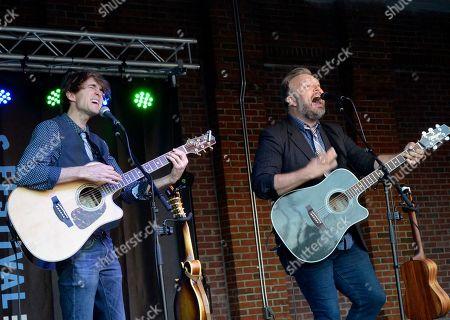 Singer/Songwriters Ryanhood, Ryan David Green and Cameron Hood