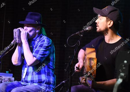 Singer/Songwriters Bob Beach and David Jacobs-Strain