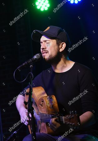 Stock Image of Singer/Songwriter David Jacobs-Strain