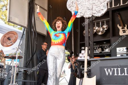 Amirah Kassem is seen at the BottleRock Napa Valley Music Festival at Napa Valley Expo, in Napa, Calif