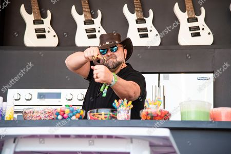 Duff Goldman performs at the BottleRock Napa Valley Music Festival at Napa Valley Expo, in Napa, Calif