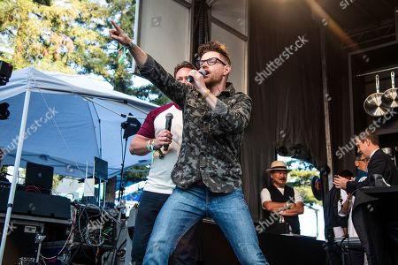 Richard Blais performs at the BottleRock Napa Valley Music Festival at Napa Valley Expo, in Napa, Calif