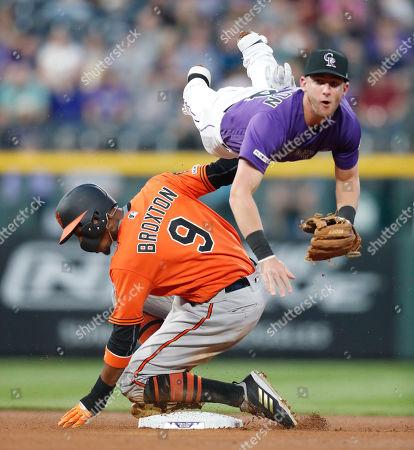 Editorial image of Orioles Rockies Baseball, Denver, USA - 25 May 2019