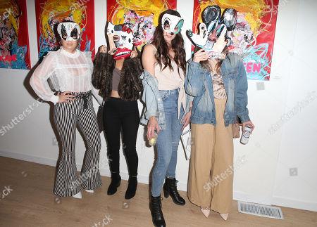 Mackenzie Stone, Keana Marie, Brooke Hube, Michelle Hindle