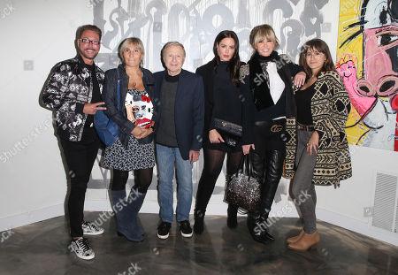 Stock Photo of Pate Stevens, Emma Murmuridis, Steve Murmuridis, Beau Dunn, Laura Dunn, Anaïs Ganouna