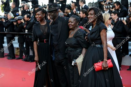 Lilian Thuram and family