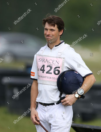 Harry Meade, before riding Merrywell Tradition at the Saracen Horse Feeds