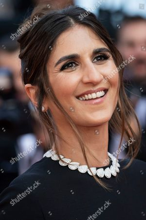 Geraldine Nakache poses for photographers upon arrival at the awards ceremony of the 72nd international film festival, Cannes, southern France