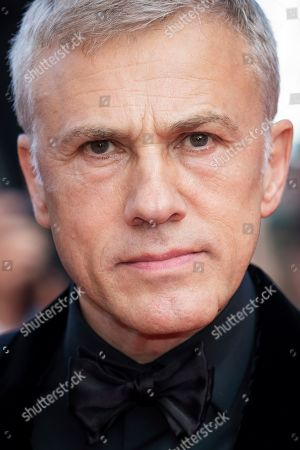 Christoph Waltz poses for photographers upon arrival at the awards ceremony of the 72nd international film festival, Cannes, southern France
