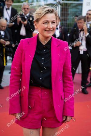 Stock Photo of Anne-Elisabeth Lemoine poses for photographers upon arrival at the awards ceremony of the 72nd international film festival, Cannes, southern France