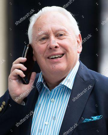 Bob Neill MP arrives at the BBC Studios.