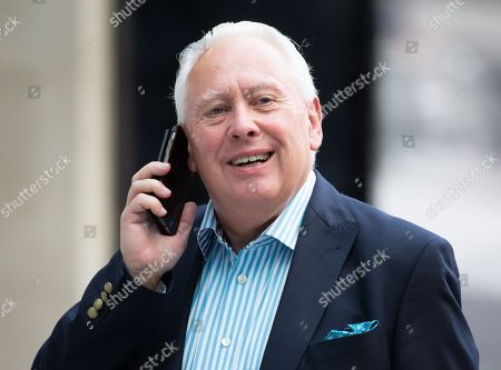Stock Picture of Bob Neill MP arrives at the BBC Studios.