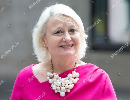 Stock Picture of Siobhain McDonagh MP, arrives at the BBC Studios.