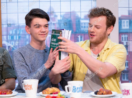 Stock Image of Milo Parker and Callum Woodhouse