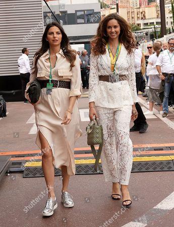 26.05.2019, Monaco Circuit, Monte Carlo, FORMULA 1 GRAND PRIX DE MONACO 2019, 23. - 26.05.2019 ,  Egle Ruskyte R), girlfriend of Nico Huelkenberg (GER#27), Renault F1 Team