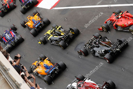 Editorial picture of Formula 1 World Championship 2019, Monte Carlo, Monaco - 26 May 2019