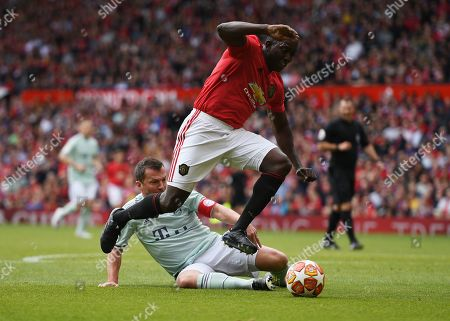 Editorial picture of Manchester United v Bayern Munich, 1999 Treble Reunion, Football, Old Trafford, Manchester, UK - 26 May 2019