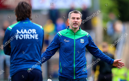 Fermanagh vs Donegal. Fermanagh manager Rory Gallagher